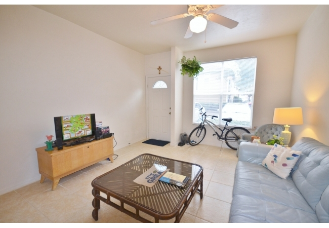 These condos offer a great deal of space in the common areas.