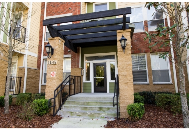 It's the only condo community with secure entry walking distance to Sorority Row and Shands.