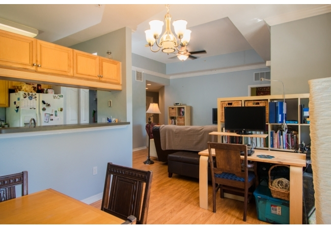 An open concept gives condos a warm and inviting feel.