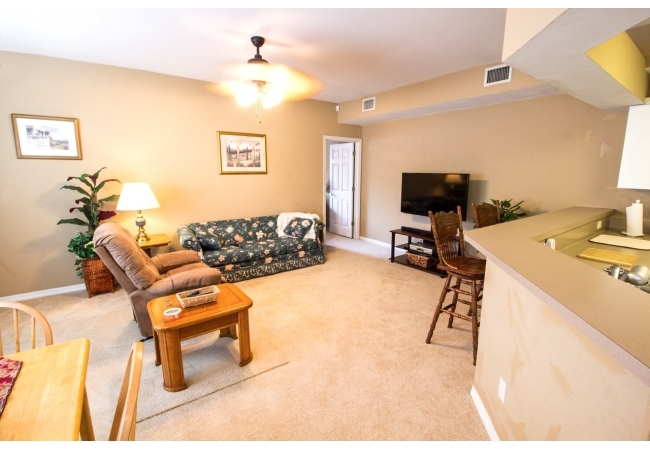 Living rooms are warm and inviting.