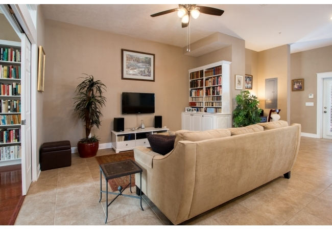Regents Park town homes are sometimes spacious enough to have two living room areas.