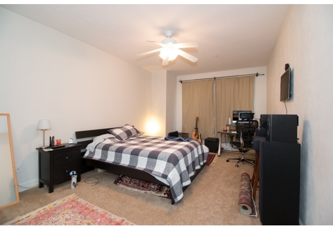 The master suite in each condo is extremly spacious, featuring a walk-in closet.