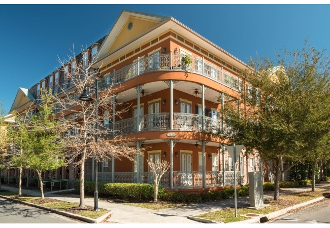 Jackson Square condos are just one block from the area of UF campus wherein the area where the majority of classes are held.