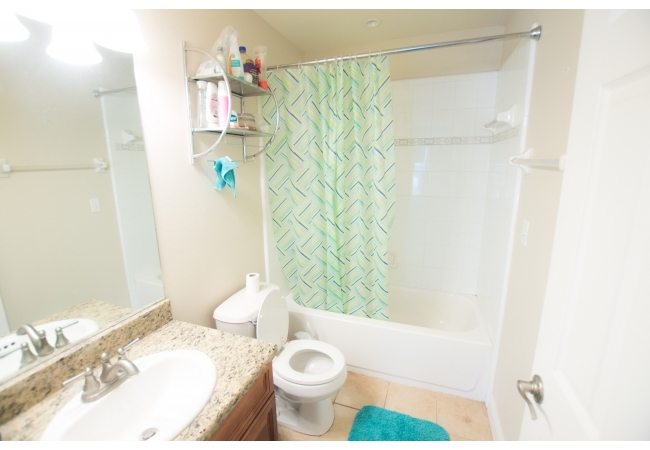 ...and it's own bathroom.