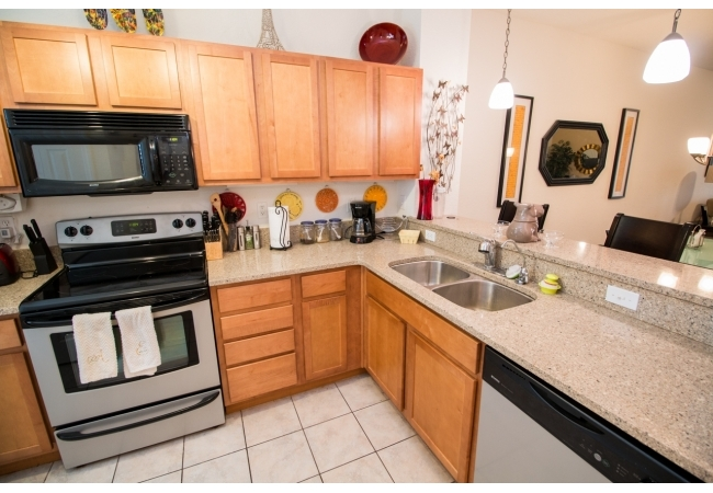 The kitchens are very luxurious.