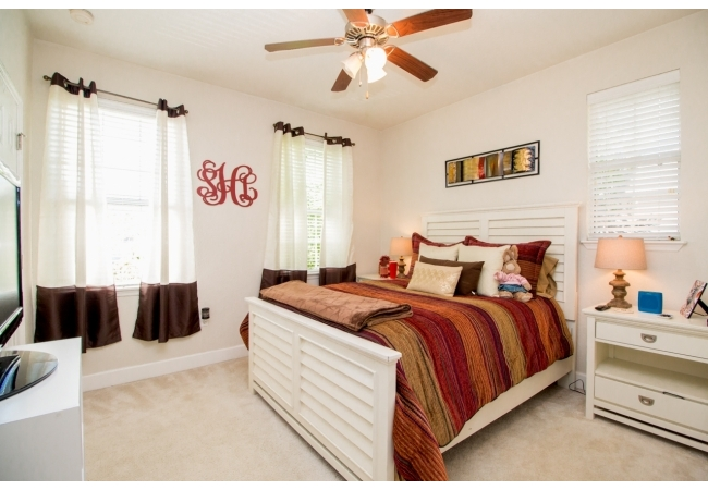 Retreat to the bright, comfortable bedrooms upstairs.