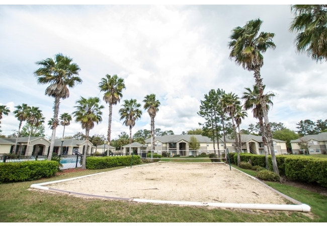 Residents can also enjoy the tennis and volleyball courts.