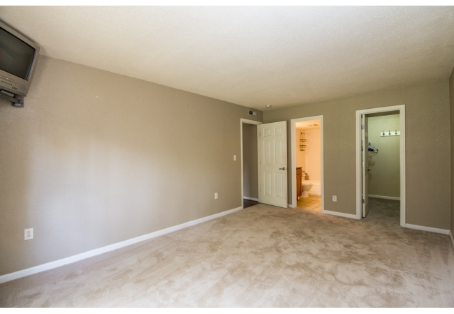 Bedrooms are massive and each master bedroom has a walk-in closet.