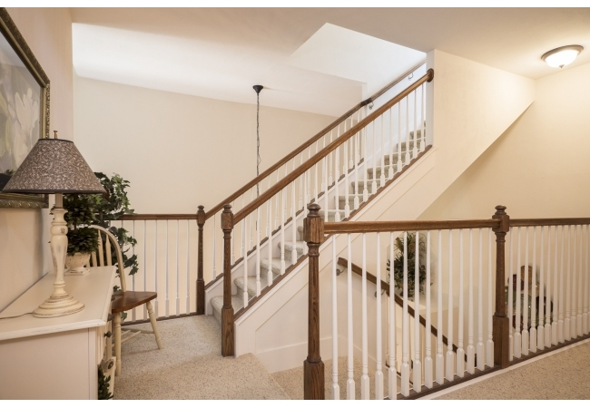 All of your guests will be imagining what is upstairs?